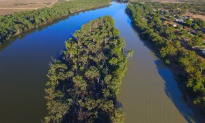 murray darling basin stock image