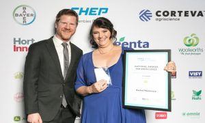 hortcon winner leading agriculture