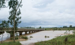 burdekin river stock image