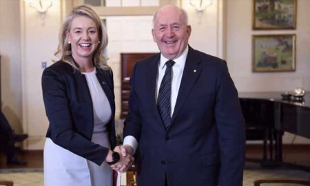 Image: Minister for Agriculture - Bridget McKenzie and the Governor General.